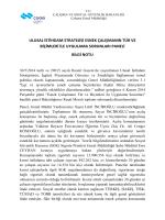 06.11.2014 Esnek Çalışmanın Tür ve Biçimleri ile Uygulama
