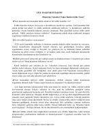 Aile Mahkemesi Hakimi ile Röportaj (PDF) - Ev