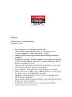 22.5.2014 Vodafone Istanbul Champions Running 24 Mayıs ve 20