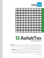 AsfaltTex Asfalt Donatısı, otoyol ve yolların üst yapı