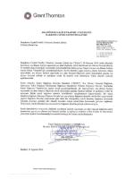 30 Haziran 2014 Faaliyet Raporu