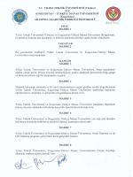 İLE KIRGIZİSTAN - TÜRKİYE MANAS ÜNİVERSİTESİ (Kırgızistan)