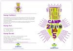 ortaokul kamp broşürü - Eskişehir Gelişim Koleji