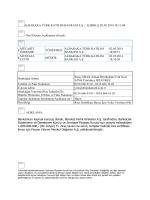 02.05.2014 - Kira Sertifikası İhracı İçin Yetki Verilmesi