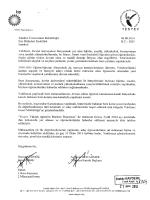 İstanbul Üniversitesi Rektörlüğü 06.08.2014