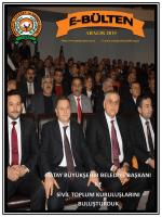 aralık 2014 - Antakya Ticaret ve Sanayi Odası
