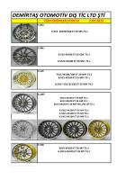 GÜNCEL STOK S-H Modellerimiz - Demirtaş Otomotiv | Oto Jant ve