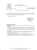 güres müsabaka talimatı 22.01.2015