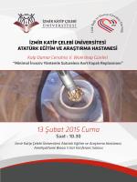 Workshop Programı - Türk Kalp ve Damar Cerrahisi Derneği