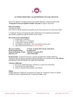 Pedagoji Pedagojik Formasyon Eğitimi Sertifika Programına Öğrenci