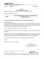 Duyuru-2015-04 - UHY UZMAN Yeminli Mali Müşavirlik ve Bağımsız