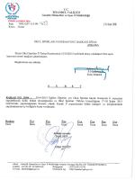 İlimiz Okul Sporları İl Tertip Komitesinin 21.01.2015 tarihinde almış