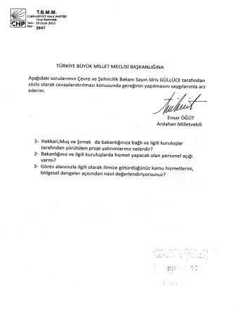 - ñ - Türkiye Büyük Millet Meclisi