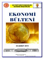 04.02.2015 Ekonomi Bulteni