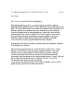 05.02.2015 Yurtdışı Piyasalara Tahvil, Bono Veya