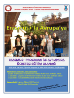 Erasmus+ Programı Bilgilendirme Semineri Afişi