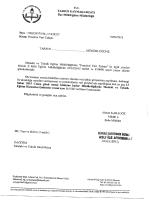 T.c. TARsUs KAYMAKAMLIĞI - tarsus ilçe millî eğitim müdürlüğü