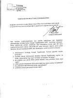 türkiye büyük millet meclisi başkanlığına