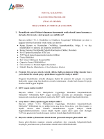SOSYAL KALKINMA MALİ DESTEK PROGRAMI (TRA2-15