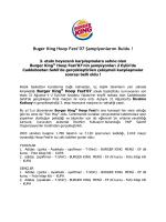 Buger King Hoop Fest`07 Şampiyonlarını Buldu !