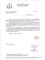T.c. MEzİTLİ KAYMAKAMLIĞI İlçe Miııi Eğitim Müdürlüğü
