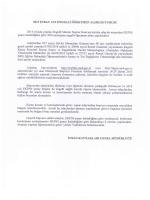Bakanlık Yazısı - Mersin İl Milli Eğitim Müdürlüğü