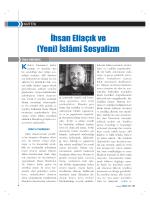 Ihsan Eliacik ve (Yeni) Islami Sosyalizm (Bekir Karakoc – 2012)