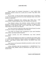 01 Mart 2015 tarihleri arasında 26`ıncısı kutlanacak olan Vergi