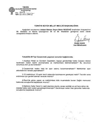 6` s - Türkiye Büyük Millet Meclisi