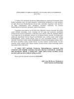 21/02/2015 tarihinde yapılacak sözleşmeli zabıt katipliği uygulama