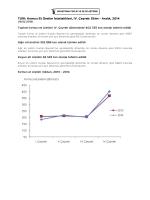 TU K: Kırmızı Et Üretim statistikleri, IV. Çeyrek: Ekim