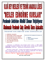 perakende satış görevlisi kursu eğitim konuları 1. kişisel bakım 2