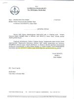 T.c. sALİHLİ KAYMAKAMLIĞI İlçe Milli Eğitim Müdürlüğü