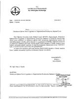 T.c. sAL`IHLİ KAYMAKAMLIĞI İlçe Miııı Eğitim Müdürlüğü
