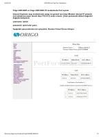 Origo ASR8400 ve Origo ASR8400 V2 modemlerde Port açmak