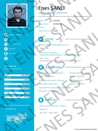 CV`im - Enes ŞANLI