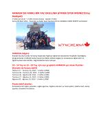 KANADA`DA FARKLI BİR YAZ OKULUNA GİTMEK - Ies
