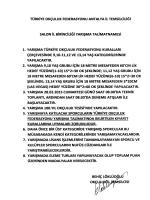 TÜRKİYE OKCULUK FEDERASYONU ANTALYA iL TEMSİLCİLİĞİ