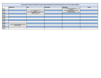 (tezli/tezsiz-ingilizce) 2014-2015 bahar dönemi pazartesi s