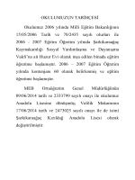 Tarihçe - Milli Eğitim Bakanlığı