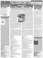6 sanat - Yeni Adana Gazetesi