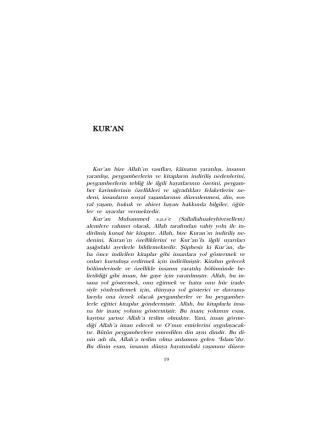 03. Kur`an - Abdurrahman EREN