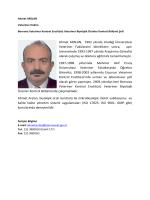 Ahmet ARSLAN, 1992 yılında Uludağ Üniversitesi Veteriner