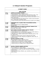 4. Psikeart Günleri Programı