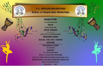 Dans Afiş - TC Efeler Belediyesi