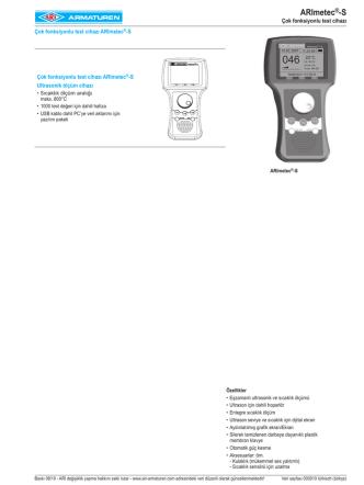 ARImetec®-S - ARI Armaturen