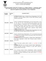 10.02.2015 Tarihli 1. Birleşimine ait karar özeti için tıklayınız
