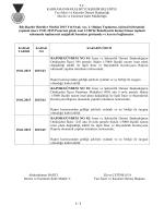 19.01.2015 Tarihli 3. Birleşimine ait karar özeti için tıklayınız