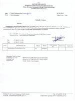 karbondiosit gazı alımı 19/03/2015 saat 10:00