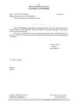 Resmi Yazı ve Form - Aksaray Milli Eğitim Müdürlüğü